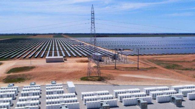La seguridad energética de Australia mejora con la mayor granja solar y de baterías