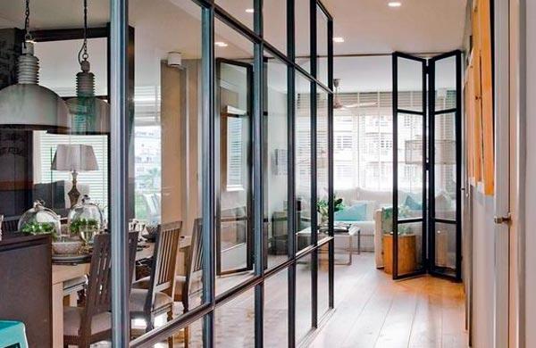 Puertas de cristal industriales